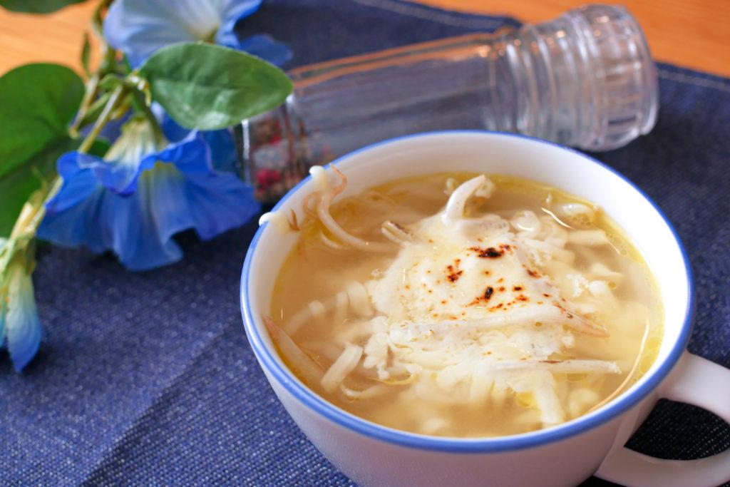 もやしグラタンスープ